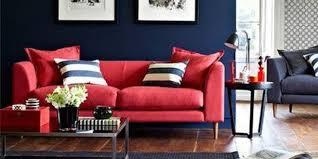 20 cozy modern red sofa design ideas
