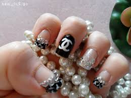 Chanel Nail Design Chanel Nail Design Product Used Essie Protein Base Coat E