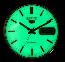 seiko kinetic titanium luminous dial 5m43 0b69 pre owned mens luminous radiation lumibrite dial