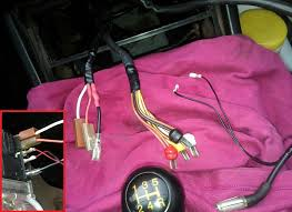 944 radio wiring the red yellow black and white connectors go to each speaker after exiting the front rear fader