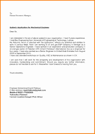 8 Mechanical Engineering Cover Letter How To Make A Cv
