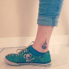 тату вокруг щиколотки для девушек татуировки на передней стороне