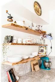 live edge diy floating shelves