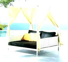 Daybed With Canopy Outdoor Outdoor Daybed With Canopy Diy Canopy ...