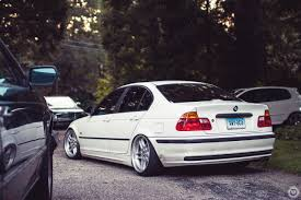 BMW 5 Series bmw m3 in white : Car Bmw M3 E46 Stance Lowered Trees Tuning White German » Car ...