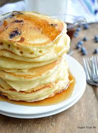 homemade fluffy pancake mix sugar dish me