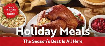 holiday dinner holiday meals lucky supermarkets