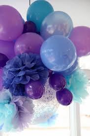 Birthday Balloons & Pom Poms