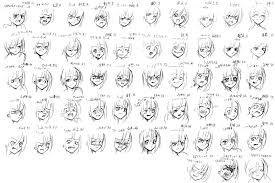 Facial Expressions Chart Drawing At Paintingvalley Com
