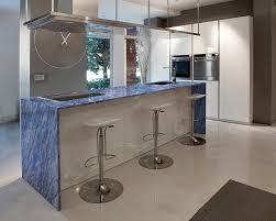 image of modern blue marble countertop