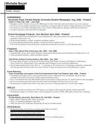 Journalist Resume Sample Journalism Resume Examples And Resume Custom Journalism Resume