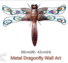 old fashioned dragonfly wall decor collection art collections metal large