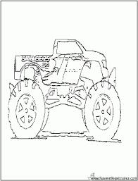 Kleurplaten Monster Trucks Nieuw Bulldozer Monster Truck Kleurplaat