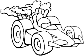 Race Car Coloring Pages Printable For Kids Free Coloring Page