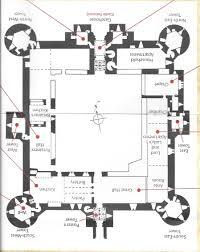 plan of castle