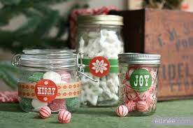 Decorated Jam Jars For Christmas Rustic Wood Type Holiday Printables The Elli Blog 55