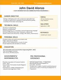 50 Unique Official Resume Format Resume Templates Ideas Resume The