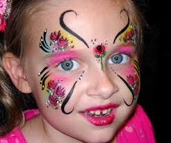 erfly princess face painting