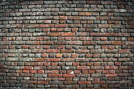 old brick wall urban background stock