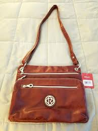 relic purses leather messenger bag
