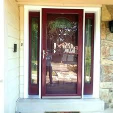 wood storm doors door wooden with