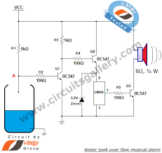 um66 based water tank over flow musical alarm circuit circuits um66 based water tank over flow musical alarm circuit circuits gallery