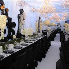 31 Days of Weddings-Day 1: Black and White | Wedding centerpieces,  Centerpieces and Weddings