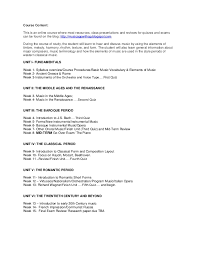fiu music appreciation class syllabus hghs fall semester 2