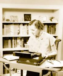 endangered species program news bulletins rachel carson at her typewriter