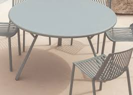 rasse round garden table detailed images