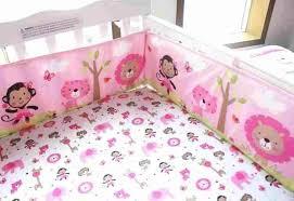sets rhaliexpresscom pink brown with s rhrandommelcom pink girls monkey crib bedding brown baby with s