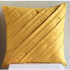 Mustard Yellow Pillow Covers