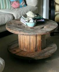 wooden spool table diy