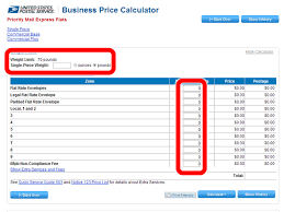 How To Calculate U S Postage Rates Online 13 Steps