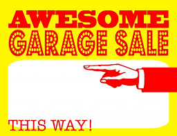Printable Yard Sale Sign Template Download Them Or Print