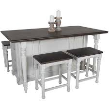 Wonderful Bourbon County Kitchen Island With Drop Leaf Gallery