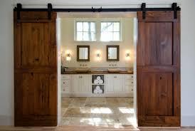 image of rustic sliding mirror closet doors ideas