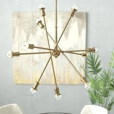 10 light chandelier frederick sputnik 10 light chandelier vintage by for 2 mali crystal