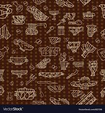 Kitchen utensils background Royalty Free Vector Image