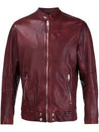 sel zipped leather jacket men clothing sel shirts clean sel exclusive range