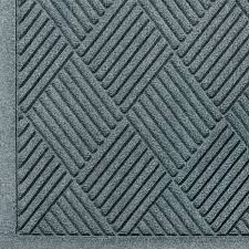 andersen 221 waterhog fashion diamond polypropylene fiber entrance indoor outdoor floor mat sbr rubber backing 5 length x 3 width 3 8 thick bluestone