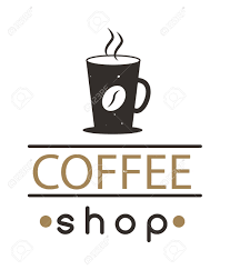 Cafe Design Logo Coffee Logo Shop Sign Cafe Symbol Espresso Design Morning Drink