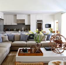 beach looking furniture. Furniture:Futuristic Beach Living Room Furniture With L Shape Grey Leather Sofa And Rectangle White Looking