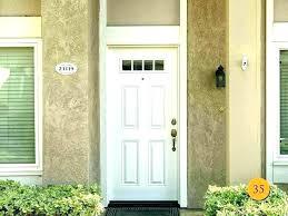 front door glass replacement inserts