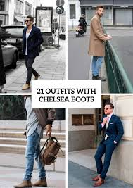 Discover the latest range of men's chelsea boots with asos. 21 Cool Men Outfit Ideas With Chelsea Boots Styleoholic