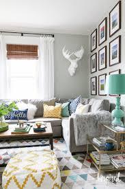 living room inspired by charm summer home tour 2016