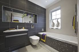 Part Tiled Bathrooms Should You Install A Glass Tile Backsplash Which Type