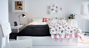 ikea bedroom ideas for small rooms. Charming Modern Bedroom Decoration Using Various Ikea Circle Bed Frames : Minimalist Image Of White Girl Ideas For Small Rooms