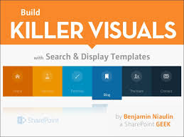 Sharepoint Team Site Template Build Killer Visuals With Sharepoint 2013 Search Display