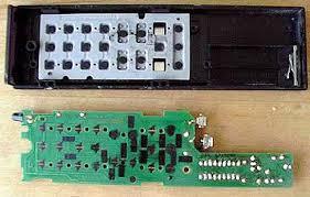 the circuit board inside a tv remote control howstuffworks inside a tv remote control